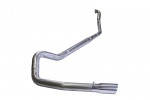 "99-03 Ford 7.3L 4"" Turbo Back System (no muffler)"